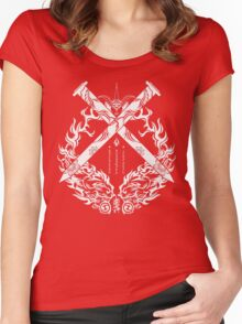 Bang Shishigami Crest Women's Fitted Scoop T-Shirt