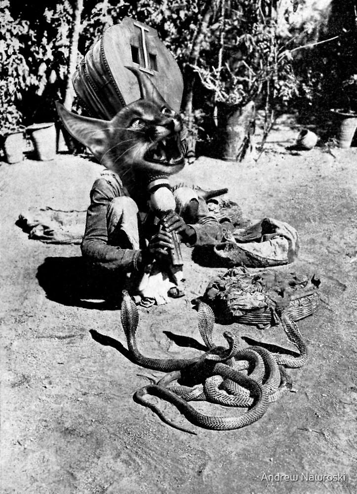 (Poor Thing) Snake Charmer. by Andreav Nawroski