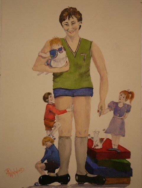 Lovely Lynda Longlegs by Pauline Winwood