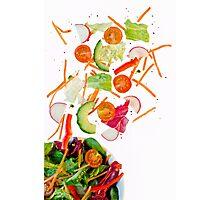 tossed salad.. Photographic Print