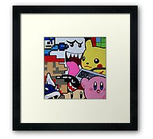 nintendo youth Framed Print