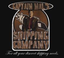 Captain Mal's Shipping Company Baby Tee