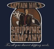 Captain Mal's Shipping Company by uncmfrtbleyeti