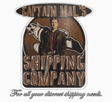 Captain Mal's Shipping Company Kids Tee
