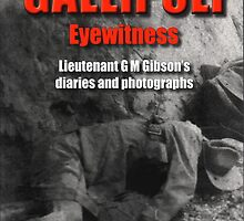 Gallipoli Eyewitness Book Cover by Steve Kendall