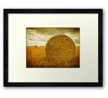 Prince Edward Island Pastoral Farm Fields Framed Print