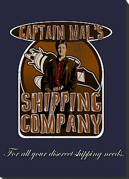 Captain Mal&#x27;s Shipping Company by uncmfrtbleyeti