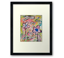 I Am Me... Genuine As Can Be Framed Print
