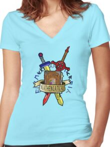 The Enchiridion Women's Fitted V-Neck T-Shirt