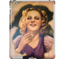 Vintage Woman 1 iPad Case/Skin