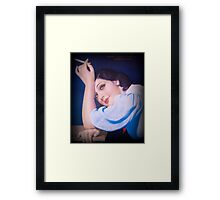 Vintage Woman 3 Framed Print