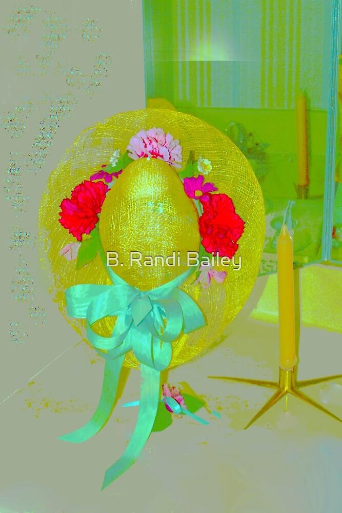 Lady's hat in the vanity by ♥⊱ B. Randi Bailey