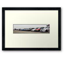 Subaru Roll Call Framed Print