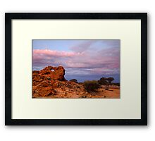 Hole Rock - Leinster, WA Framed Print