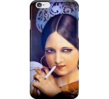 Vintage woman 2 iPhone Case/Skin