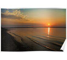 Summer Sundown Poster