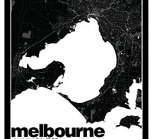 Melbourne Map by timcostello