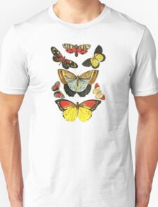 Vintage Butterfly Collection Unisex T-Shirt