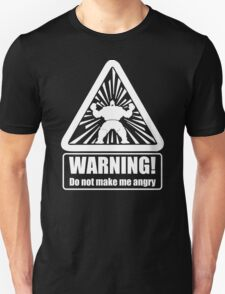 New Anger Problems,warning!do not make me angry T-Shirt