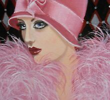 ART DECO LADY by Dian Bernardo