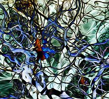Splash-Back Glass  - Goblin Woods of Bermagui by Martin Dingli