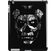 IN YOUR FACE - distressed white iPad Case/Skin