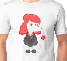 Poodle Black Widow by Centtaro Unisex T-Shirt
