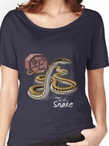 Year of the Snake Card Women's Relaxed Fit T-Shirt