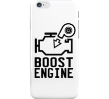 Boost engine check engine light iPhone Case/Skin