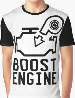 Boost engine check engine light Graphic T-Shirt