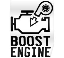 Boost engine check engine light Poster