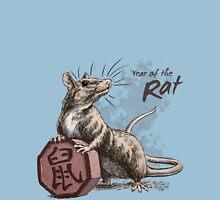 Chinese Zodiac - Year of the Rat Unisex T-Shirt