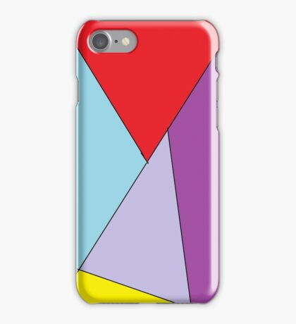 Abstract Colours iPhone Case/Skin