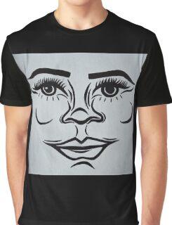 Clean, modern portrait Graphic T-Shirt