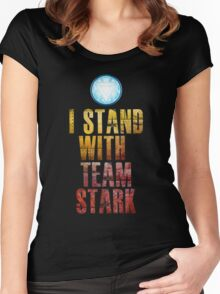 I stand with Team Stark Women's Fitted Scoop T-Shirt