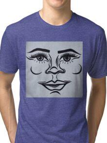 Clean, modern portrait Tri-blend T-Shirt