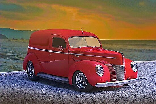 1940 Ford Panel Truck by DaveKoontz