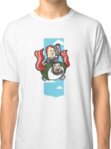 Smith And The Buffy Man On Wings of Swine Classic T-Shirt
