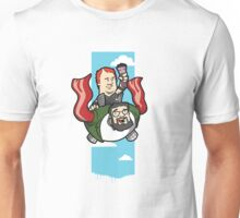 Smith And The Buffy Man On Wings of Swine Unisex T-Shirt
