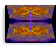 Foci#14a: Tesseract - The Folding of Space & Time (G1064) Canvas Print