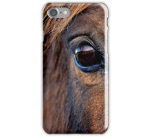 Look into the soul of a horse iPhone Case/Skin