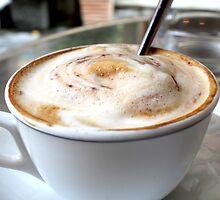 Un Cappuccino by Andrea  Muzzini