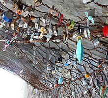 Locks of Love, Cinque Terre by Andrea  Muzzini