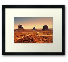 The Monument Three Framed Print