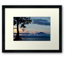 Mount Cameroon Framed Print