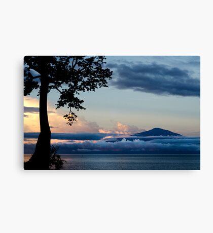 Mount Cameroon Canvas Print