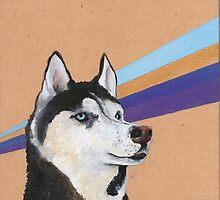Siberian Husky by NancyBenton