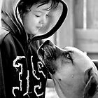 A Boy and His Dog.... by Karen  Helgesen