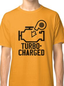 Turbocharged check engine light Classic T-Shirt