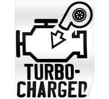 Turbocharged check engine light Poster